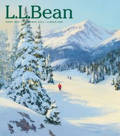 #LLBean Christmas 2014 catalog cover art by Tim Deibler.  Learn more about the artist on our blog http://blog.llbean.com/2014/10/meet-the-artists-behind-our-christmas-catalog-covers/