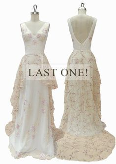 Promise Gown Final Sale