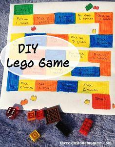 DIY Lego-inspired board game
