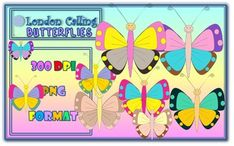 Clip Art - Butterflies - 300 dpi, png files, crisp images. You get 10 png images that can be easily enlarged without losing the quality.***********************************************************************************Please COMMENT and RATE!*********************************************************************************You can click a 'Follow Me' button for more notifications on my products that are sometimes free within…