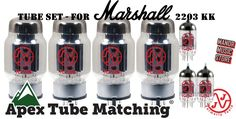Tube Set - for Marshall 2203 KK #JJ