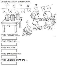 Pedagógiccos: Atividades para trabalhar Festa Junina - parte 1