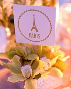 This travel-loving couple named each table at their wedding after a city of significance for them