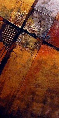 """Mixed Media Artists International: Mixed Media Abstract Painting, """"IGNITION POINT"""" by Carol Nelson Fine Art #abstractart"""