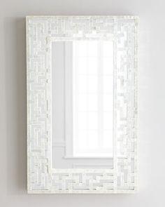 sale $206 Capiz+Fretwork+Mirror+at+Horchow.