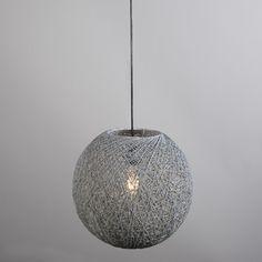 Lámpara colgante CORDA 35 gris