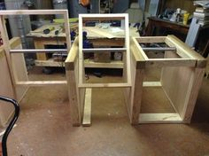 Multi-Tool Flip-Top Table : 12 Steps (with Pictures) - Instructables Workbench Designs, Workbench Plans, Woodworking Workbench, Woodworking Workshop, Woodworking Projects, Folding Workbench, Woodshop Tools, Kreg Tools, Welding Projects