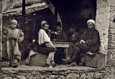 Fred Bouasona great French photographer , lover of Greece took a series of photos portraying the Greece of century Vintage Photography, Street Photography, Old Photos, Vintage Photos, Albanian People, Magnified Images, Greek Men, Frederic, French Photographers
