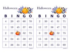 Halloween Bingo Cards, 1000 cards, 2 per page, immediate pdf download, watercolor pumpkins Halloween Bingo Cards, Christmas Bingo Game, Fun Christmas Party Games, Christmas Fun, Bingo Card Maker, Custom Bingo Cards, Bingo Calls, Bingo Patterns, Paper Size