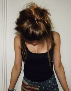 #Messy #MessyBun #Bun #Mess #Cute #Adorable #Brown #Hair #Hairstyle #Lazy #Cute #SameTime #HotMess #Love #Comfy #Chill #Relax #Look #TheLook #Style #Fashion #Beauty