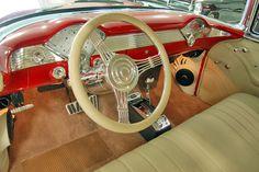 1955 Chevy Bel Air dash