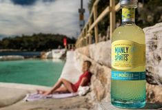 Relax with our Limoncello 🍋 Manly Beach, Limoncello, Italian Style, Distillery, Beer Bottle, Sunshine, Spirit, Ocean, Liqueurs
