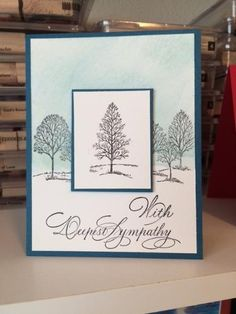 Lovely as a Tree Sympathy card by Amisjag - Cards and Paper Crafts at Splitcoaststampers