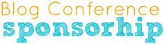 Ideas for Individual Blog Conference Sponsorship