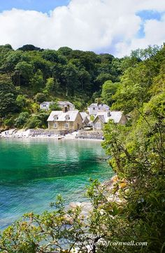 Durgan Beach ~ Durgan is a small, picturesque village near the mouth of the Helford River in Cornwall*