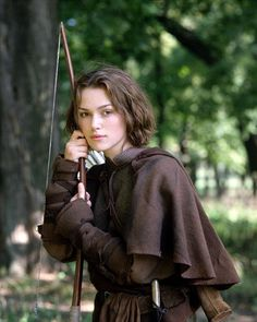 """Keira Knightley portrays the character of Gwyn in the movie """"Princess of Thieves""""......"""