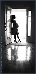 Maternity pictures ideas - ill be waiting for my firefighter to return home. I love this for us