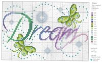 Cross stitch pattern great color combo!