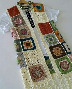 Likes, 77 Comments - d Crochet Waistcoat, Gilet Crochet, Crochet Cardigan Pattern, Form Crochet, Crochet Jacket, Crochet Blouse, Crochet Poncho, Crochet Squares, Crochet Patterns