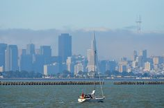 Sailing near the Berkeley Marina. by Curley Reed on 500px