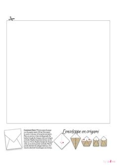 Gabarit enveloppe en origamiTélécharger le Gabarit enveloppe en origami Origami, Line Chart, Table, Diy, Pillow Box, Calendar For 2017, Christmas Open House Menu, Greeting Card, Bricolage