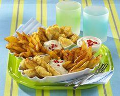 Unser beliebtes Rezept für Leichte Fish & Chips und mehr als 55.000 weitere kostenlose Rezepte auf LECKER.de.