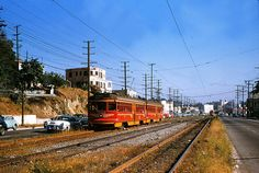 (1955) Pacific Electric Railway No. 5163 at Glendale Blvd.