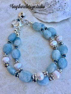 Murano glass Blue fabric bracelet adjustable lobster clasp thread friendship bracelet bright blue cat/'s eye glass bead cotton anklet