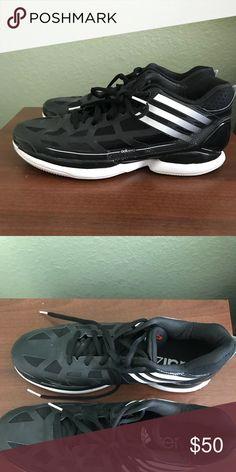 060e1a968c762 Houston Rockets Adidas Men s Shoe (unused equip.) Adidas shoes, size 12.5.