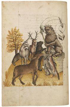 Hugo von Trimberg, (ca. 1230–ca. 1313) Der Renner, in German Austria, probably Tyrol, last quarter of the fifteenth centuryhttp://www.themorgan.org/