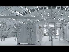 """CGI VFX Spot HD: """"Human Dome Painter"""" - by Glassworks"""