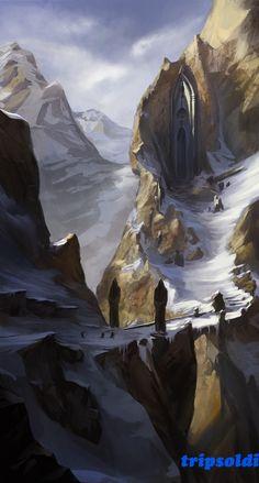 Super Ideas for fantasy landscape cave deviantart Fantasy Artwork, Fantasy Concept Art, Sci Fi Fantasy, Fantasy World, Medieval Fantasy, Fantasy Landscape, Landscape Art, Fantasy Places, Fantasy Setting