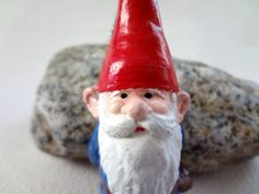 Cute Gnome Alert! I love this little brooch from daSilvaHandmade.etsy.com