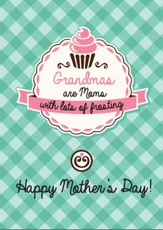 Grandma Mother's Day quote  - free printable @clubchicacircle - easy homemade gift idea