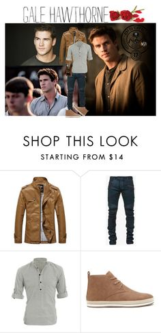 """""""Gale Hawthorne"""" by unicorncheesecake ❤ liked on Polyvore featuring Balmain, Allegra K, Forever 21, Banana Republic, men's fashion and menswear"""