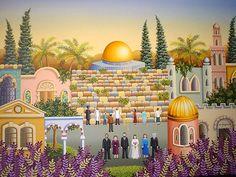 Casamiento en Jerusalén por LAURA VIDRA