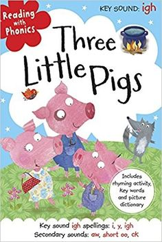 Three Little Pigs (reading with phonics) • English Wooks