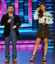 Saif Ali Khan and Katrina Kaif promote #Phantom on #DancePlus. #Bollywood #Fashion #Style #Beauty #Handsome
