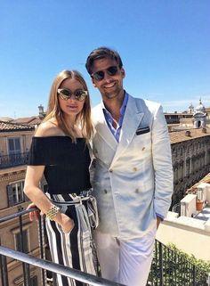 The Olivia Palermo Lookbook : Olivia Palermo in Rome