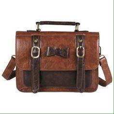 ec475922cd9 Spotted while shopping on Poshmark  Vintage Leather Messenger Crossbody  Satchel Bag!  poshmark