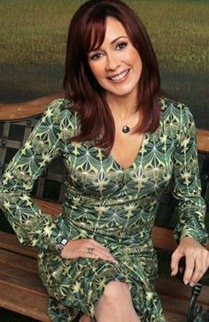 Patricia Heaton - one of my favorite actresses. She is a star on a show called The Middle and also on a show called Everybody Loves Raymond