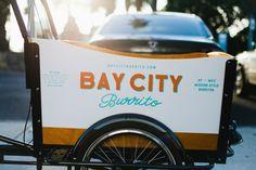 Bay City Burrito restaurant branding