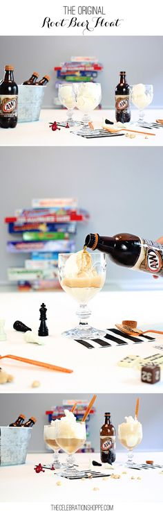 Original Root Beer Float Recipe - Perfect for Family Game night!  | Kim Byers