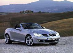 My dream car! Mercedes Benz SLK in silver or black!