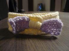 receitas de trico feito a mão com ponto de deferente parafitas para cabelos - Pesquisa Google