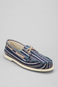 Sperry Top-Sider Authentic Original Stripe 2-Eye Boat Shoe