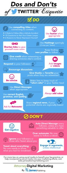 Do's and Don'ts of #Twitter #Etiquette
