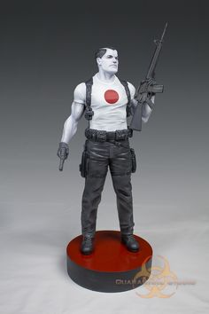 Bloodshot Vinyl Statue