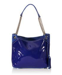 Borsa Fana indigo leather bag