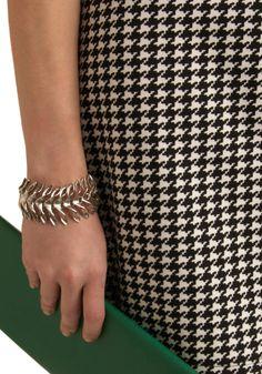 Leaf it to Me Bracelet | Mod Retro Vintage Bracelets | ModCloth.com